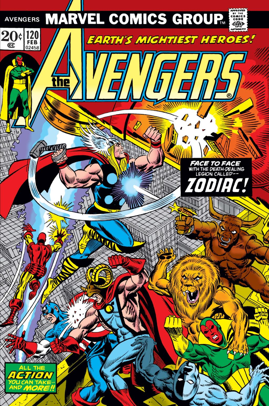 avengers vs zodiac
